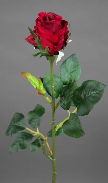 Rose Elena 45cm bordeaux PM Seidenblumen Kunstblumen künstliche Blumen Rosen