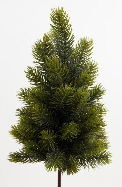 Tannenbäumchen 36cm -ohne Topf- AR Kunsttanne Weihnachtsbaum Tannenbaum Spritzguss