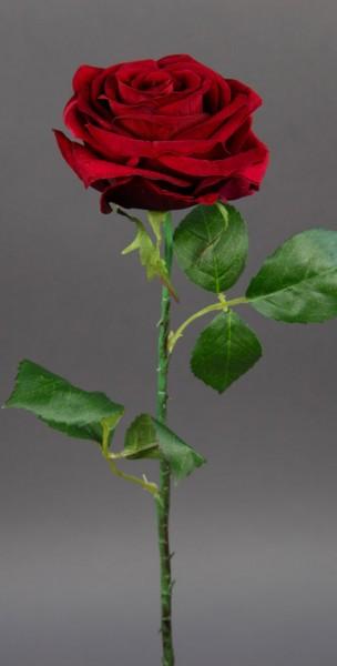 Baccararose 54cm rot CG Kunstblumen künstliche Rose Rosen Blumen Seidenblumen