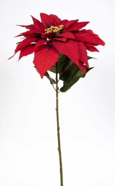 Weihnachtsstern / Poinsettie 50cm rot DP Kunstpflanzen künstliche Blumen Pflanzen