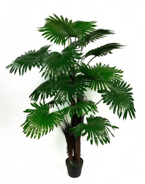 Fächerpalme Real Touch 140cm ZJ künstliche Pflanzen Palmen Palme Kunstpalmen Kunstpflanzen Dekopalme