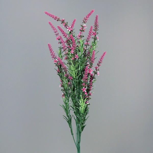 Ehrenpreis / Veronica Busch 60cm fuchsia -ohne Topf- DP Kunstpflanzen Kunstblumen künstliche Blumen
