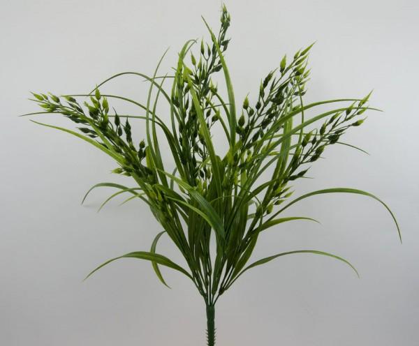Wildhaferbusch 54cm -ohne Topf- FT Kunstpflanzen künstlicher Hafer Grasbusch