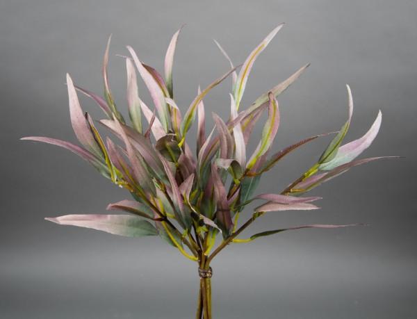 Eukalyptus-Bund 36cm grün-rosa DP Kunstzweig künstliche Zweige Kunstpflanzen künstlicher Eukalyptus