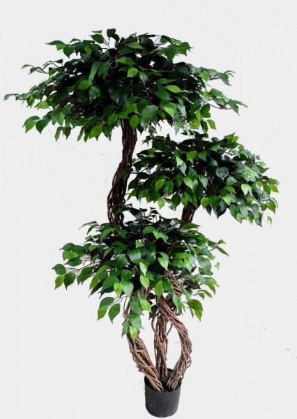 Crazy Ficus 180 DA künstlicher Ficus Baum Kunstbaum Kunstpflanzen