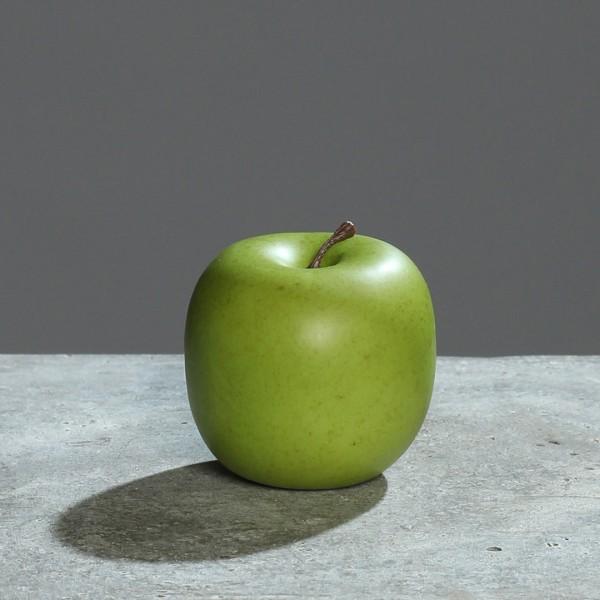Künstlicher Apfel 8cm grün DP Dekoobst Kunstobst Künstliches Obst