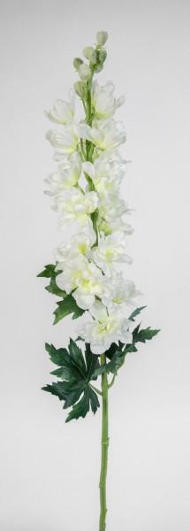 Rittersporn / Delphinium 86cm weiß-creme PM Kunstblumen künstliche Blumen
