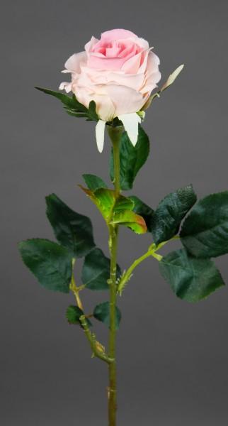 12 Stück Rose Elena 45cm rosa PM Seidenblumen Kunstblumen künstliche Blumen Rosen