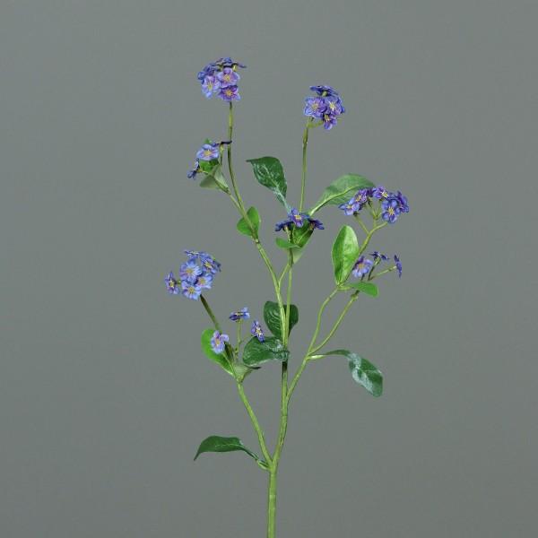 Vergissmeinnichtzweig 50cm DP Kunstblumen künstliche Blumen Myosotis Vergissmeinnicht