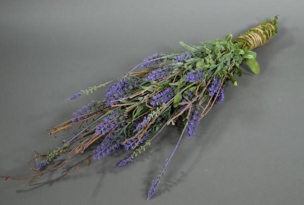 Lavendel-Arrangement 65x22cm LM - Lavendelhänger Lavendelgesteck Kunstblumen künstliche Blumen