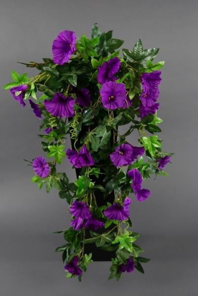 Petunienranke 65cm lila ZF Kunstpflanzen künstliche Petunie Pflanzen Blumen Kunstblumen