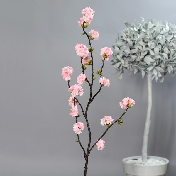 Kirschblütenzweig Nature 145cm rosa DP Kunstblumen künstliche Kirschblüten Blumen Zweige