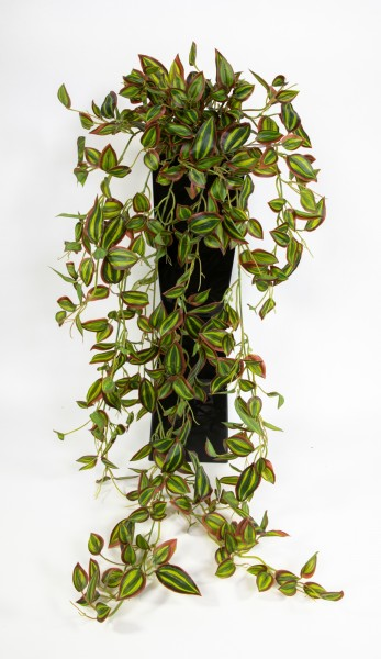 Melonenblatt-Ranke / Tradescantia-Ranke Real Touch 100cm ZF Kunstpflanzen künstliche Pflanzen Ranke