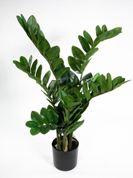 Zamioculcas Zamiifolia / Glücksfeder 72cm GA Kunstpflanzen künstliche Pflanzen Zamii