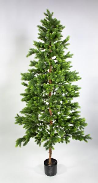 Wald-Tannenbaum Deluxe 180cm DA künstlicher Weihnachtsbaum Tannenbaum Kunststoff Spritzguss 100% PE