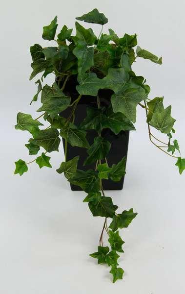 Efeubusch Real Touch 55cm grün-weiß DP Kusntpflanzen künstliches Efeu Efeuranke