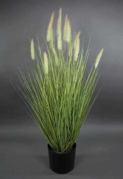 Fuchsschwanzgras 95x55cm grün CG Kunstpflanzen Dekogras Grasbusch künstliches Gras