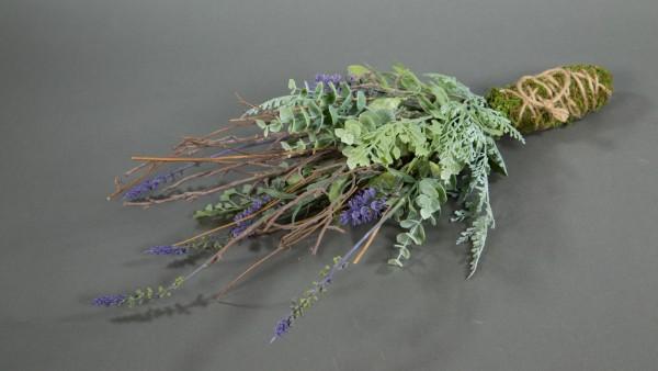 Lavendel-Arrangement 48x20cm LM - Lavendelhänger Lavendelgesteck Kunstblumen künstliche Blumen