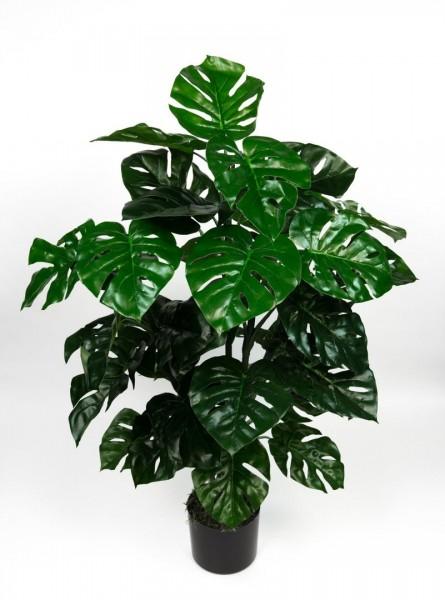 Splitphilopflanze Real Touch 100cm grün ZJ Kunstpflanzen künstliche Pflanzen Splitphilo