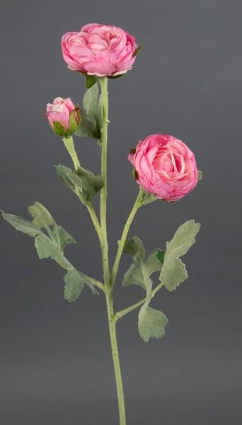 Ranunkelzweig 54cm rosa CG Kunstblumen künstliche Blumen Ranunkel