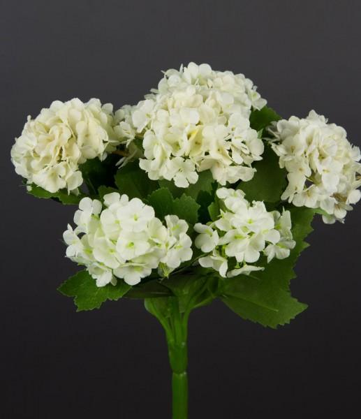 Schneeballbusch 24cm weiß-creme CG Kunstpflanzen Kunstblume künstliche Blumen künstlicher Schneeball