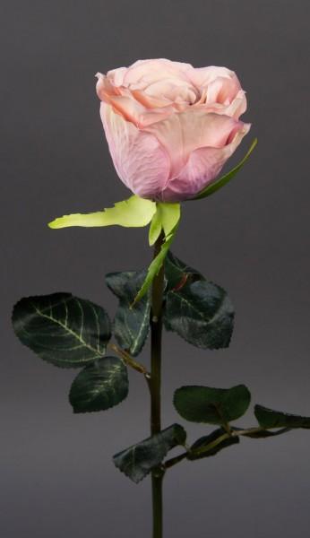 Gartenrose 42cm rosa-pink GA Kunstblumen Seidenblumen künstliche Blumen Rose