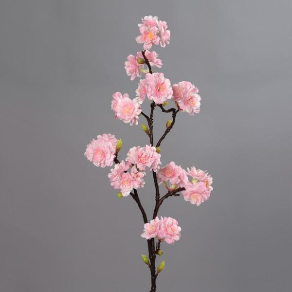 Kirschblütenzweig Nature 94cm rosa DP Kunstblumen Seidenblumen künstliche Kirschblüten Zweige Blumen