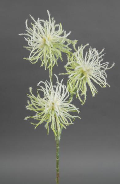 Zaubernusszweig / Hamameliszweig 46cm weiß GA Kunstblumen Kunstzweig künstliche Blumen Hamamelis