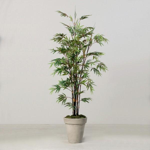 Schwarzer Bambus 240cm DP Kunstbaum Kunstpflanzen künstlicher Baum Pflanzen Kunstbambus