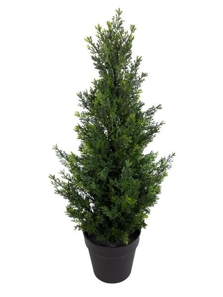Zeder / Konifere Natura 60cm LA künstliche Pflanzen Kunstpflanzen Kunstbaum Thuja Zypresse