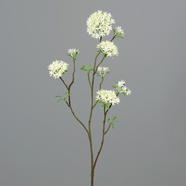 Bouvardienzweig 85cm weiß GA Kunstblumen künstliche Bowardien Bouvardien Blumen Zweige