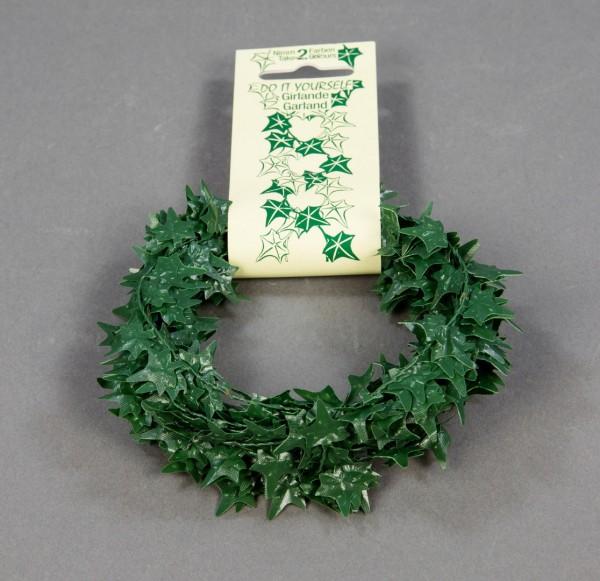 Efeugirlande 300cm grün PF Kunstpflanzen künstliches Efeu Efeublattgirlande