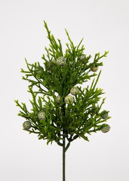 Mini - Zedernpick 20cm CG Kunstzweig künstliche Zweige Zeder Thuja Kunstpflanzen