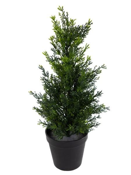 Zeder / Konifere Natura 45cm LA künstliche Pflanzen Kunstpflanzen Kunstbaum Thuja Zypresse