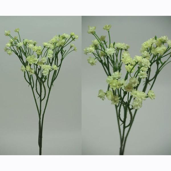 Gypso / Schleierkraut creme 50cm DP Seidenblumen Kunstblumen künstlicher Blumen