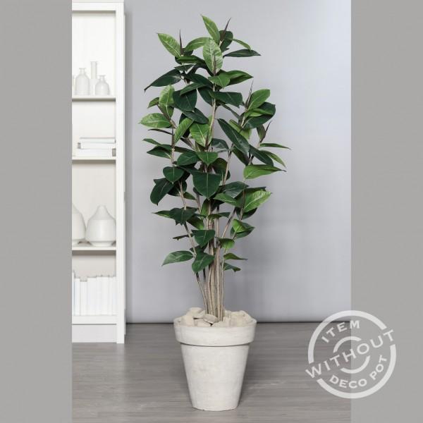 Gummibaum 150cm DP künstlicher Baum Kunstbaum Kunstpflanzen