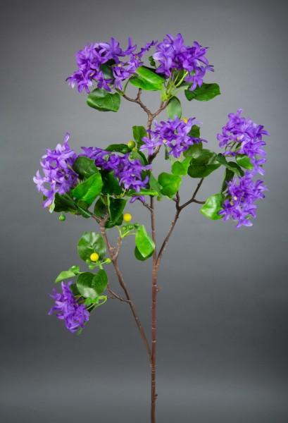 Fliederzweig 90cm lila ZF Kunstblumen Seidenblumen künstlicher Flieder Zweige Blumen