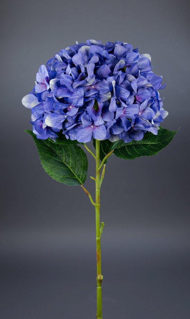 riesige deko hortensie 110cm blau lila ga kunstblumen seidenblumen k nstliche blumen hortensien. Black Bedroom Furniture Sets. Home Design Ideas