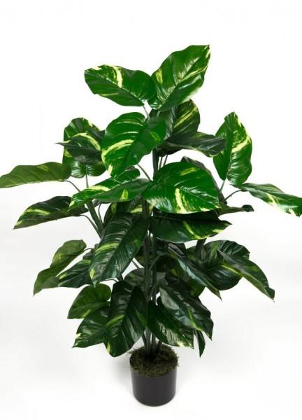 Photospflanze Real Touch 100cm grün-gelb ZJ Kunstpflanzen künstliche Pflanzen Photos