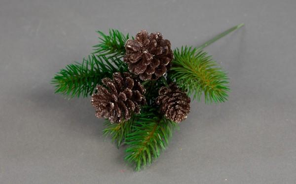 Tanne 30cm künstlich Beerenpick