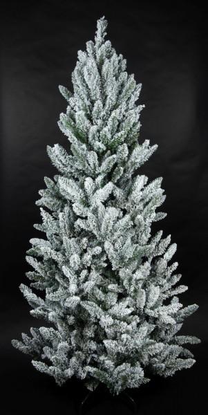 Schnee-Tannenbaum 240cm LS künstlicher Weihnachtsbaum Tannenbaum Kunststoff Schneetanne