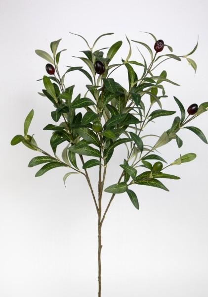 Olivenzweig Korsika 75cm ZF Kunstpflanzen künstlicher Zweig Oliven