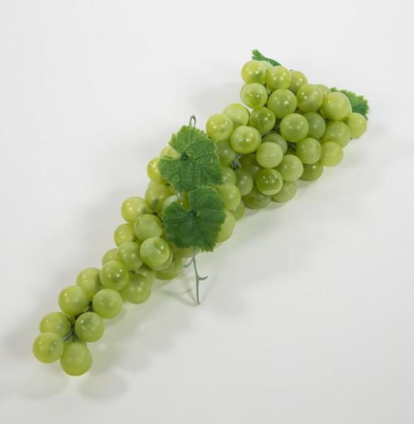 Künstliche Weintrauben 32cm grün FT Dekoobst Kunstobst Künstliches Obst