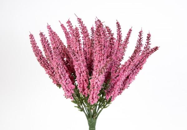Erika / Heidekraut künstlich dunkel-rosa Kunstpflanzen Kunstblumen Erikabusch künstliche Blumen