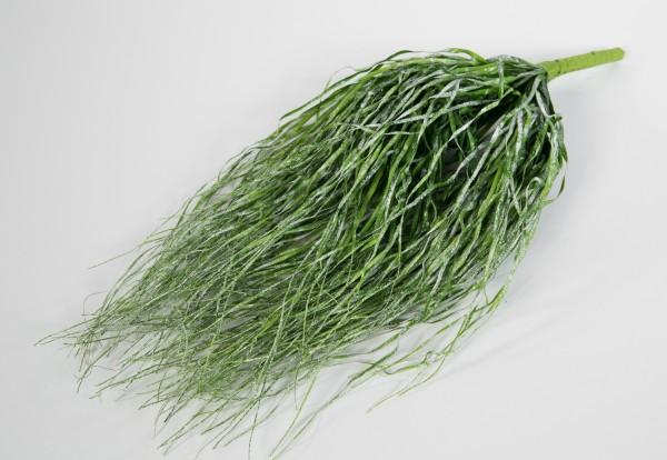 Eisgrasbusch hängend 52x24cm GA Kunstpflanzen künstliches Gras Grasbusch Kunstgras