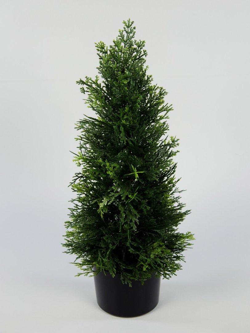 zeder konifere natura 60cm la k nstliche pflanzen. Black Bedroom Furniture Sets. Home Design Ideas