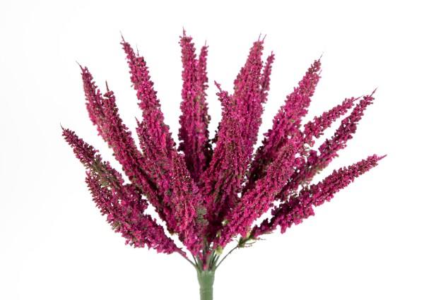 Erika / Heidekraut künstlich fuchsia Kunstpflanzen Kunstblumen Erikabusch künstliche Blumen
