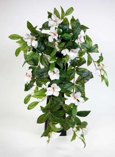 Hibiskusranke 70cm weiß-creme ZF Kunstpflanzen Kunstblumen künstliche Pflanzen künstlicher Hibiskus