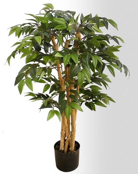 French-Ficus 90cm DA Kunstbaum Kunstpflanzen künstlicher Baum