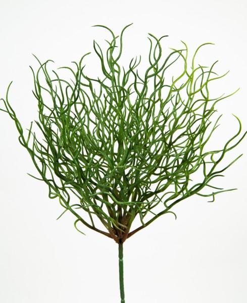 Seegrasbusch / Seegras 32cm -ohne Topf- GA Kunstpflanzen künstlicher Grasbusch Dekogras Kunstgras